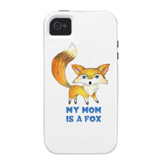 MOM IS A FOX iPhone 4/4S COVER