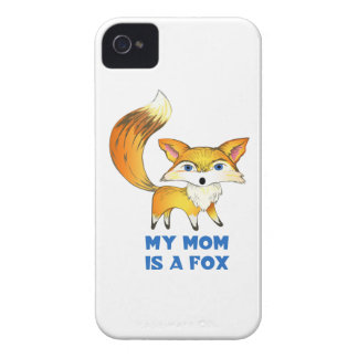 MOM IS A FOX iPhone 4 CASE