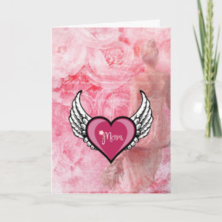 Mom is an Angel Mothers Day Card