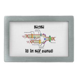 Mom Is In My Genes (DNA Replication) Rectangular Belt Buckle