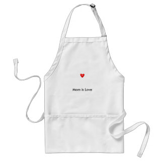 Mom is Love Adult Apron