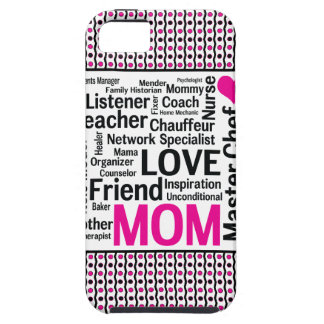 Mom is Love Mother's Day Gift Says it All iPhone 5 Cover