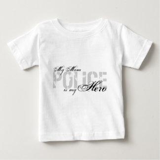 Mom Is My Hero - POLICE Baby T-Shirt