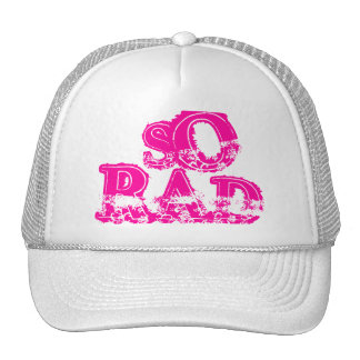 MOM IS SO RAD CAP by eZaZZleMan ( e_Zazzle_Man ) Trucker Hat