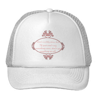 Mom-isms on t-shirts and gifts for moms. trucker hat