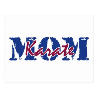 MOM karate Postcard