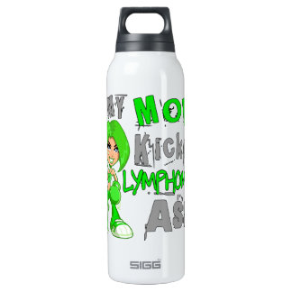 Mom Kicked Lymphoma 42.9 Insulated Water Bottle