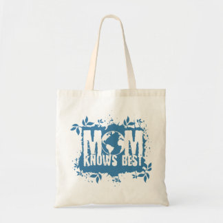 Mom Knows Best Organic Planet Reusable Canvas Bag