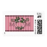 MOM Label Postage Stamp