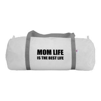 Mom Life Best Life Gym Bag