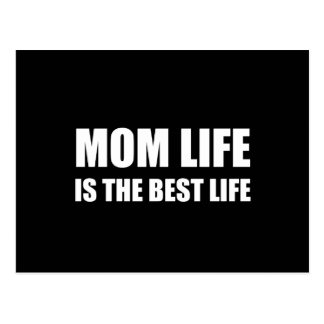 Mom Life Best Life Postcard