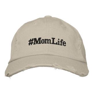 Mom Life Embroidered Baseball Cap