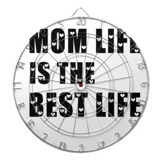 Mom Life Is The Best Life Dart Board