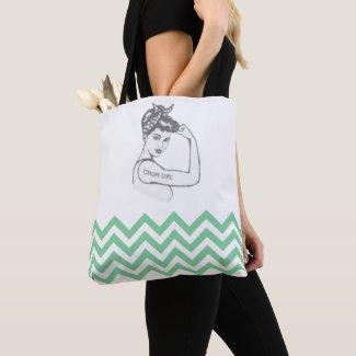 Mom Life Pinup Tote Bag