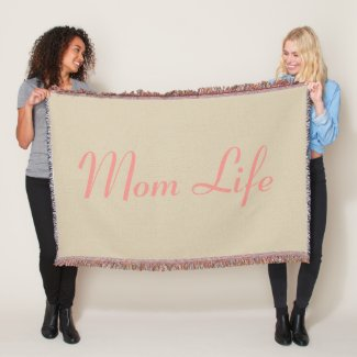 Mom Life Throw