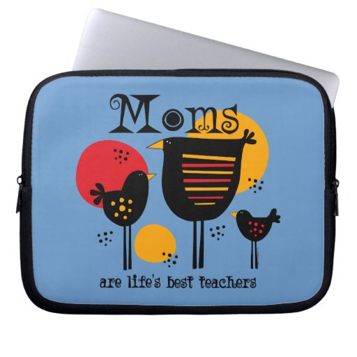 Mom Life's Best Teacher Electronics Sleeve Computer Sleeve