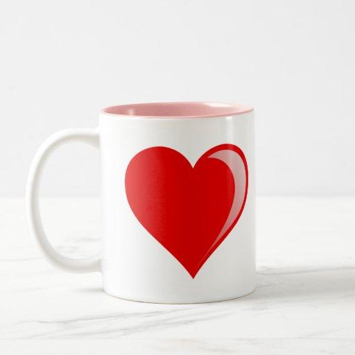 Mom Likes Me Best! Rainbow 3D Heart Mug