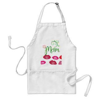 Mom Love Floral Heart Blossom Vines Destiny Sports Apron