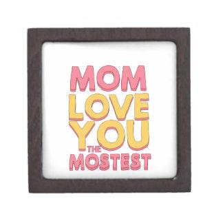 Mom, love you the mostest premium gift box