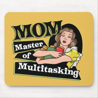 MOM Master of Multitasking Mouse Pad