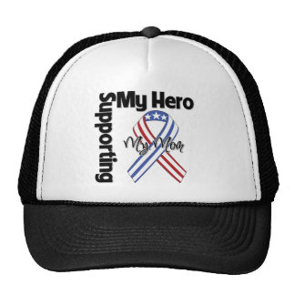 Mom - Military Supporting My Hero Hats