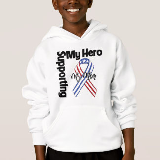 Mom - Military Supporting My Hero Hoodie