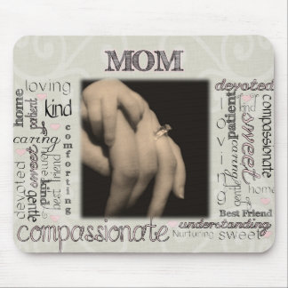 Mom Montage Mouse Pad
