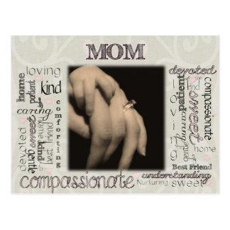 Mom Montage Postcard