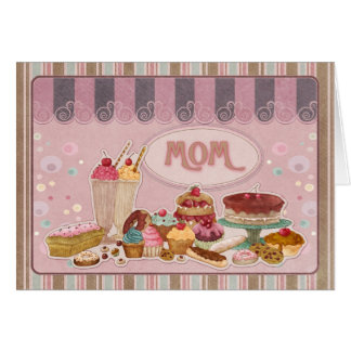 Mom Mother's Day Card With Sweets