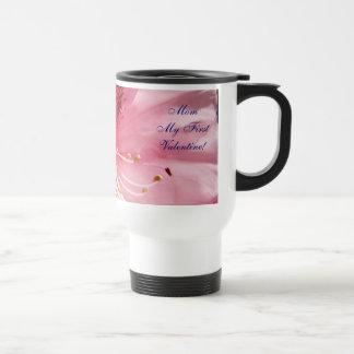 Mom My First Valentine Coffee Mug Pink Rhodies