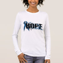 Mom My Hero - Colon Cancer Hope Long Sleeve T-Shirt