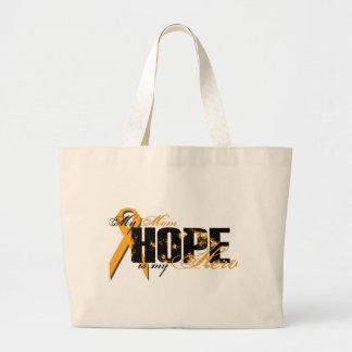 Mom My Hero - Leukemia Hope Tote Bag