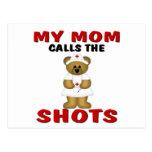 MOM NURSE POSTCARDS