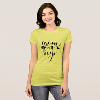 Mom of Boys T-shirt, Mother shirts, fun mom shirts