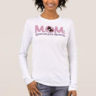Mom of Quints [5] Long Sleeve T-Shirt