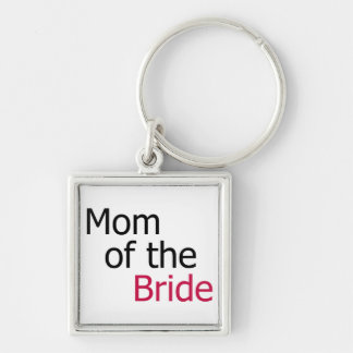 Mom of the Bride Keychain