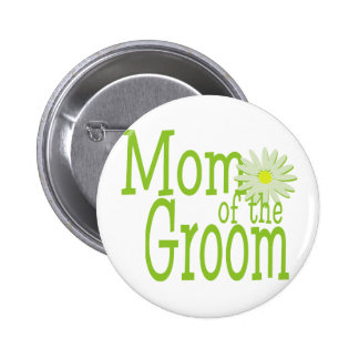 Mom of the Groom Button