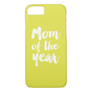 Mom of the year iPhone 7 case