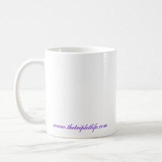Mom of Triplets Classic White Coffee Mug