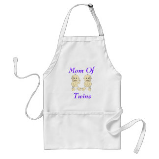 Mom of Twin Babies Apron