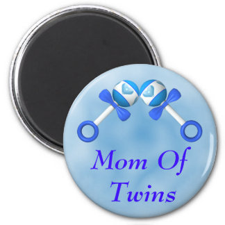 Mom Of Twin Boys Magnet