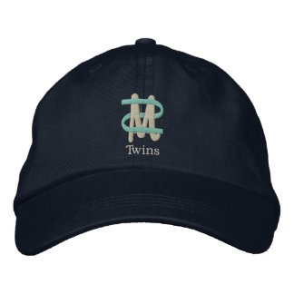 Mom of Twins [2-Drk] Embroidered Baseball Hat