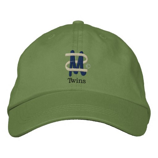 Mom of Twins [2] Embroidered Baseball Cap