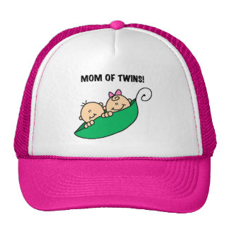 Mom of Twins-Peas in a Pod Tshirts and Gifts Trucker Hat