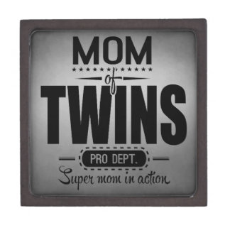 Mom Of Twins Pro Dept. Super Mom In Action Gift Box