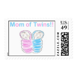 Mom of Twins Stamps