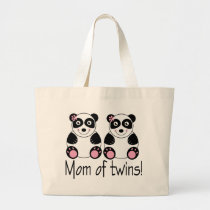Mom Of Twins Tote Bag