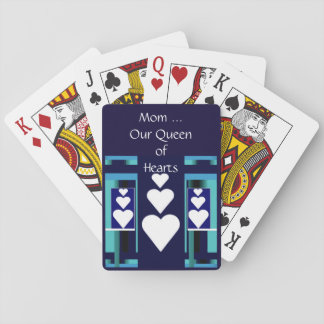 MOM, Our Queen of Hearts Playing Cards/Blue Playing Cards