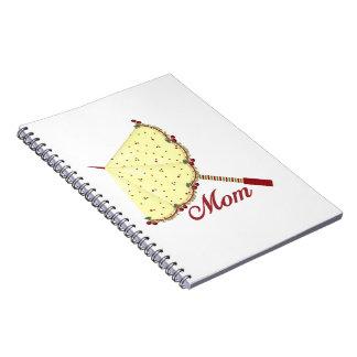 Mom (parasol) spiral notebooks