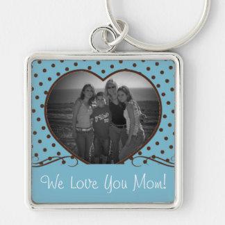 Mom Photo Keychain